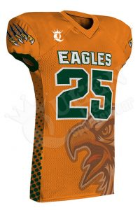 Sublimated Football Jersey - Titans Style