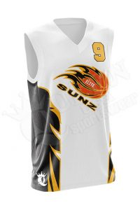 Sublimated Basketball Jersey - Knights style