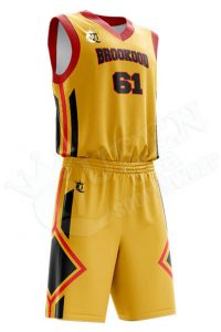 Printed Basketball Uniform – Archery style