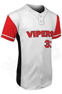 Printed Two-button Jersey - Vipers Style