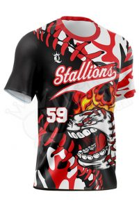 Crew Neck Baseball Jersey - Stallion Style