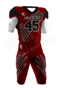 Sublimated Football Uniform - Patriots Style