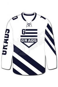 Sublimated Hockey Jersey- Grads Style