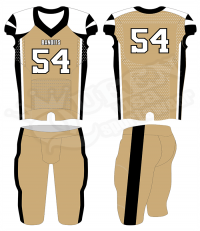Semi-pro Football Uniform - Rebels Style