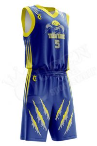 Basketball Uniform - Sorento style