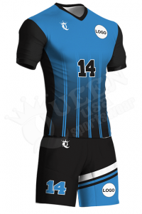 Sublimated Two-Button Jersey – Bulldog Style