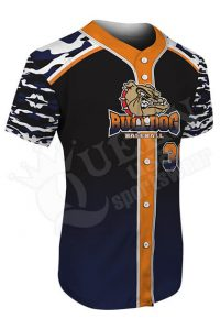 Custom Baseball Jersey - Athletics Style