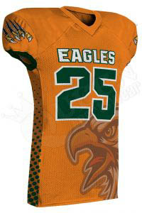 Sublimated Football Jersey – Eagles Style