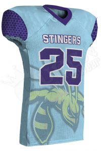 Sublimated Football Jersey – Stingers Style