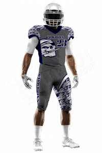 Sublimated Football Jersey – Cowboys Style