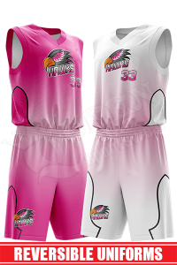 Reversible Basketball Uniform - Gators style