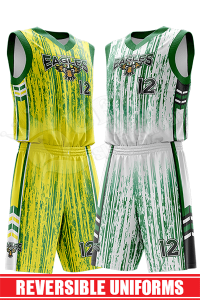 Reversible Basketball Uniform - Eagles style