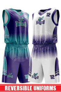 Sublimated Basketball Jersey – Hornets style