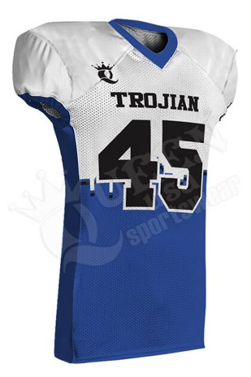Sublimated Football Jersey - Crocodiles Style