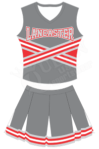 Custom Cheerleading Uniform - Lancaster Style