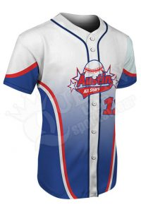 Custom Baseball Jersey -Force Style