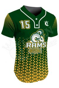 Sublimated Two-Button Jersey - Rams Style