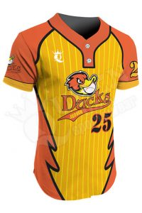 Sublimated Two-Button Jersey - Ducks Style