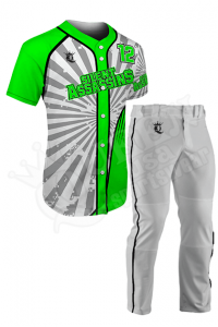 Sublimated Two-Button Jersey -Silent Assassins Style