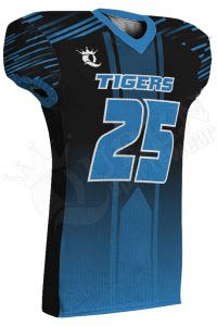 Sublimated Football Jersey – Tigers Style