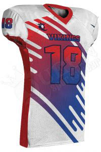 Sublimated Football Jersey – Vikings Style