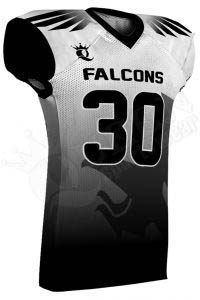 Sublimated Football Jersey – Falcons Style