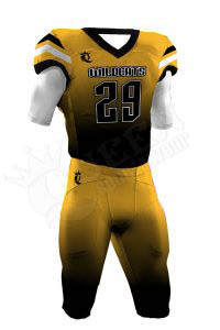 Sublimated Football Uniform – Wildcats Style