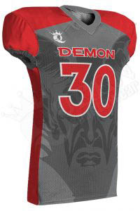 Sublimated Football Jersey – Demon Style
