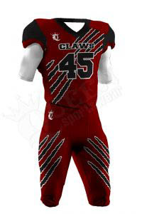 Sublimated Football Uniform – Claws Style