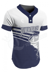 Sublimated Two-Button Jersey - Thunder Style