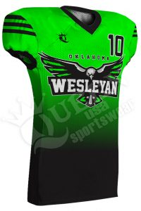 Sublimated Football Jersey - Storm Style