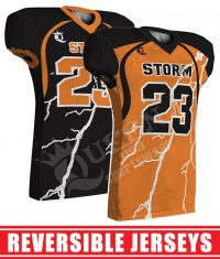 Reversible Football Jersey - Storm style