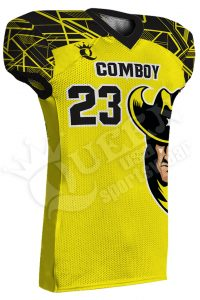 Sublimated Football Jersey - Cowboy Style
