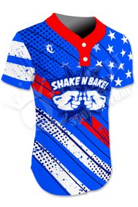 Sublimated Two-Button Jersey - Regulators Style
