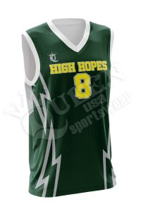 Sublimated Basketball Jersey - Wolfpack style